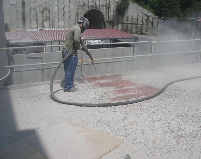 Preparación de superficies: Servicios de Sistemas RPH