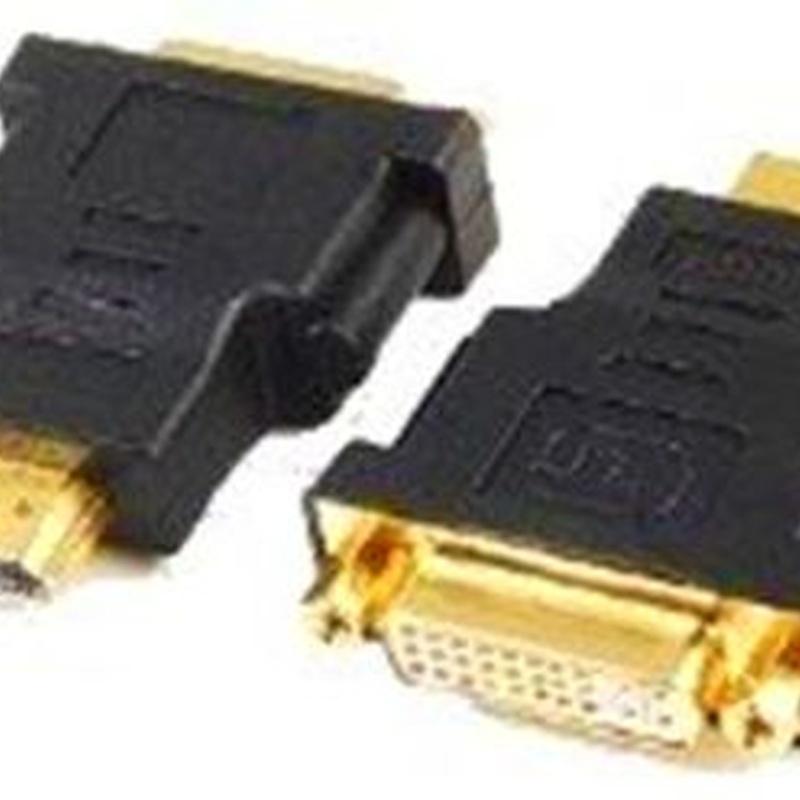 iggual Adaptador Conversor de HDMI(M) en DVI(H)24p : Productos y Servicios de Stylepc