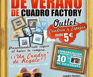 LAS REBAJAS DE VERANO DE CUADRO FACTORY