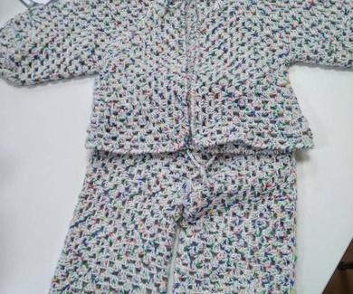 Conjunto tejido por Nines