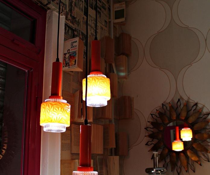 Lámparas pop naranja: Artículos  de Ruzafa Vintage