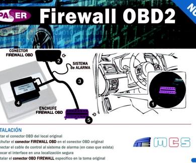Nuevo sistema antirrobo inteligente Firewall OBD2 de PASER