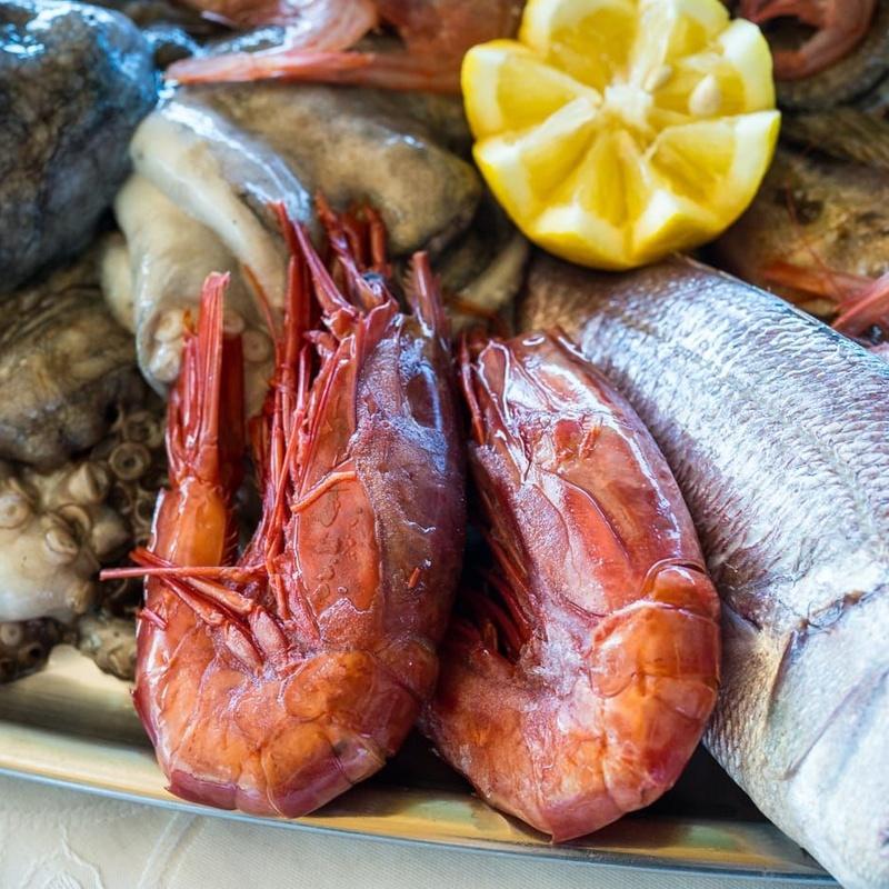 Carabineros: Nuestras especialidades de Restaurante Lago Verde