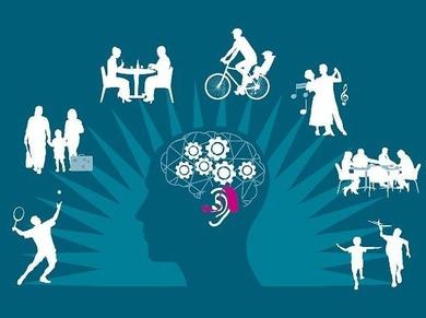 Los audífonos ayudan a mantener el cerebro en forma.