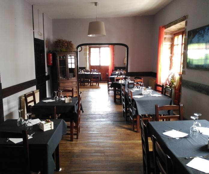 Eventos y pequeñas celebraciones: Servicios of Restaurante La Villa Igantzi