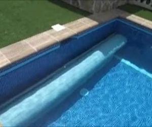 Cubierta automática de piscina