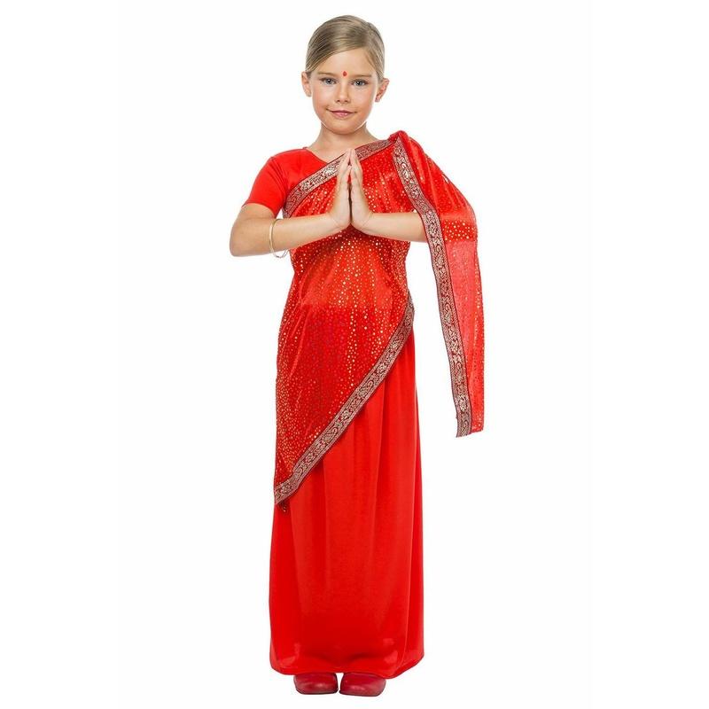 Disfraz bollywood niña