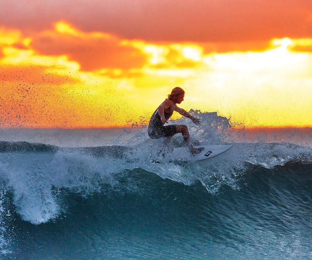 Surf, un deporte para amar el mar