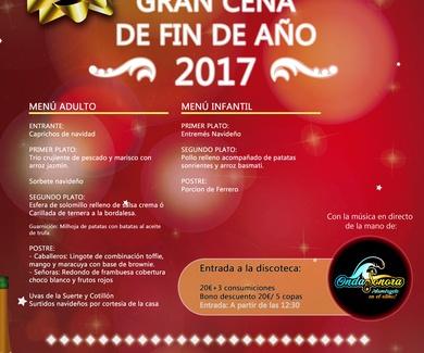 Gran Cena de Fin de Año 2017