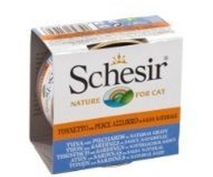 Schesir gatos latas comprar en tienda animales Madrid