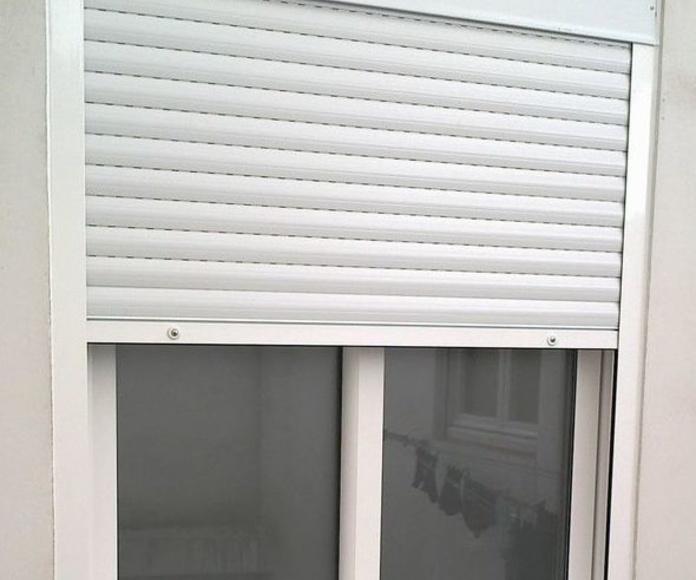 ventanas de aluminio en L'Eixample de Barcelona