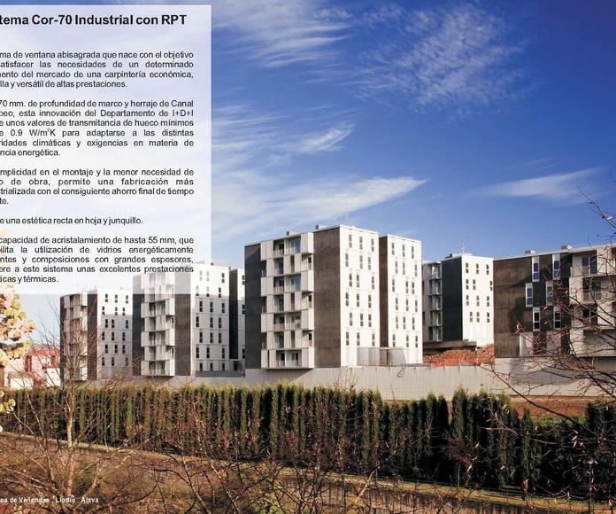 Cor 70 Industrial RPT: Catálogo de Jgmaluminio