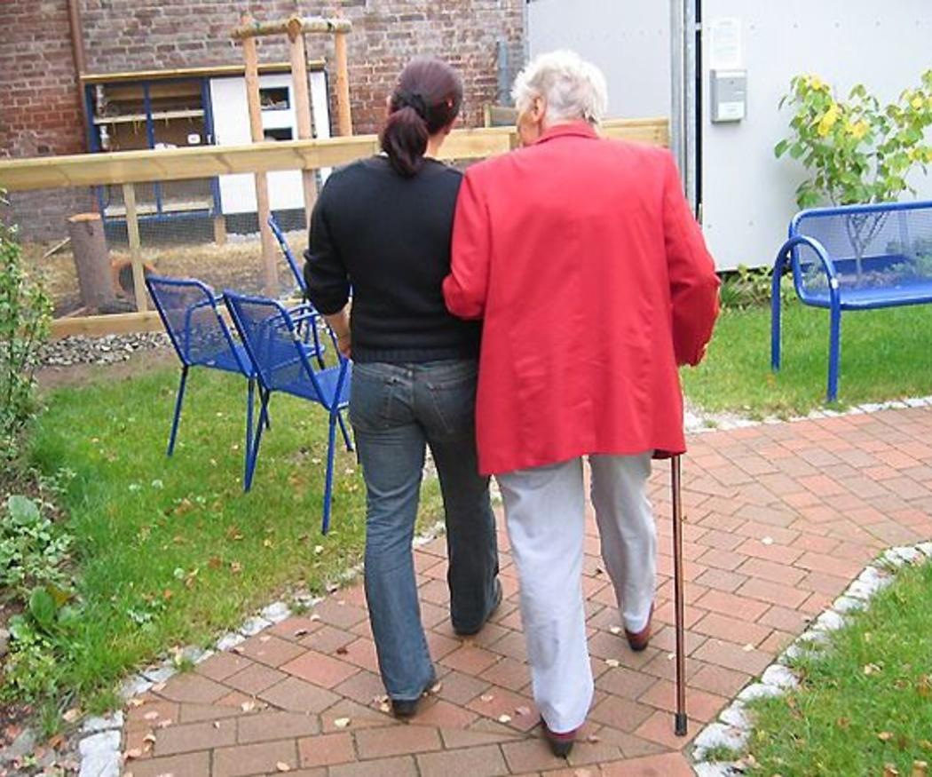 Cuidar a los ancianos física y psíquicamente