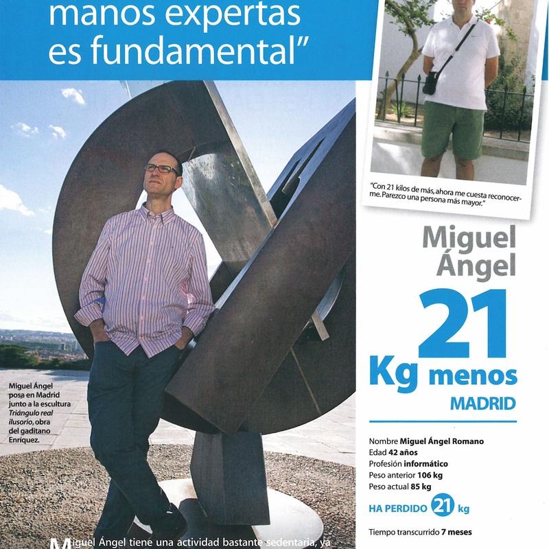 Testimonio de Miguel Angel: Complementos Quema grasa de Naturhouse Moratalaz