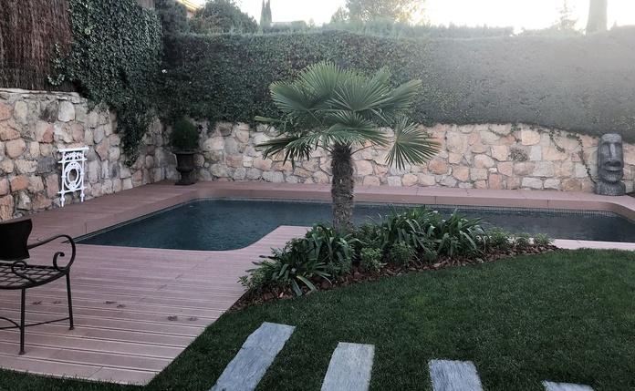 rehabilitación de piscina en Alcobendas