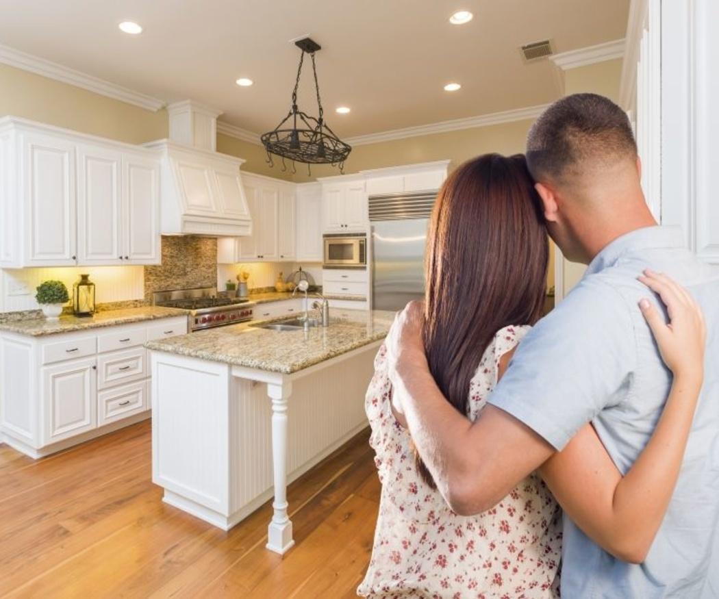 Crea un espacio para comer en tu cocina