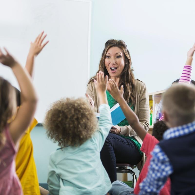Kids (3-5 años): Academia de idiomas de Bez's English Centre