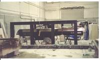 Montando el disco puente, año 2001