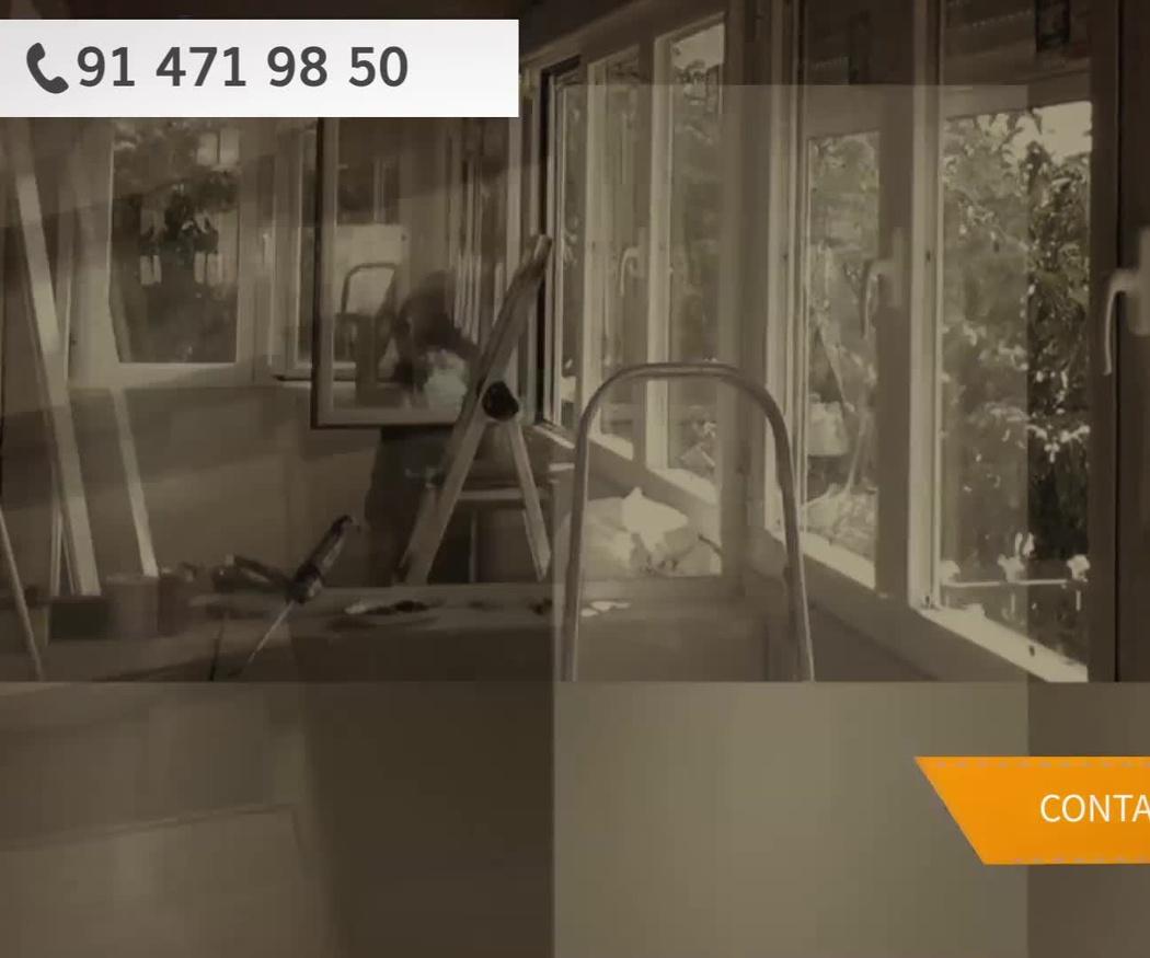 Presupuesto en cerramientos y ventanas de aluminio, Carabanchel, Madrid