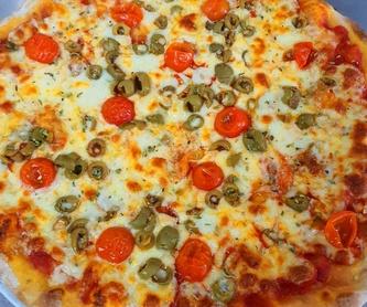 Pizza francesca : Nuestras Pizzas de Pizzería Las Tres B