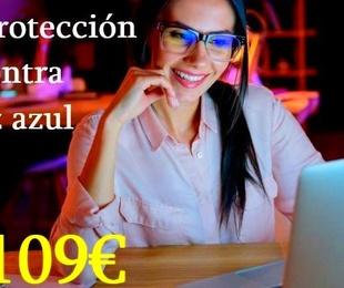 Gafas protección contra luz azul desde 109€