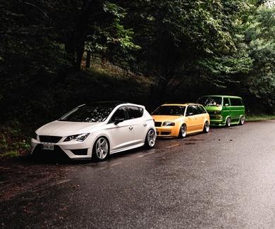 Sirius Tuning - CrapMedia Full Film Audi S6 C5, BMW M3 E46, Seat Leon 5 F & Exeo, VW T3 Scooby bus