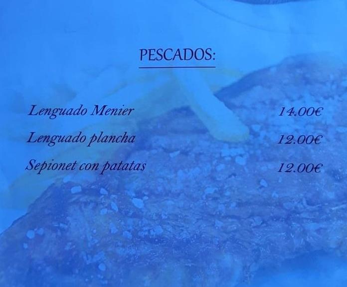 Platos de pescado: Nuestra Mesa de Arroceria Ca' Merche