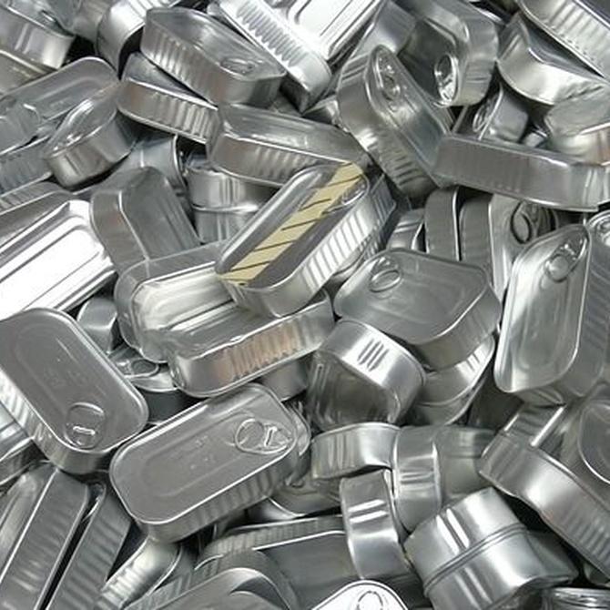 Algunos objetos en los que se convierten los metales reciclados