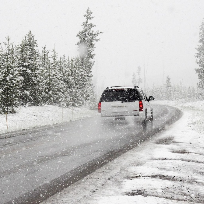 Conducir en zonas de nieve