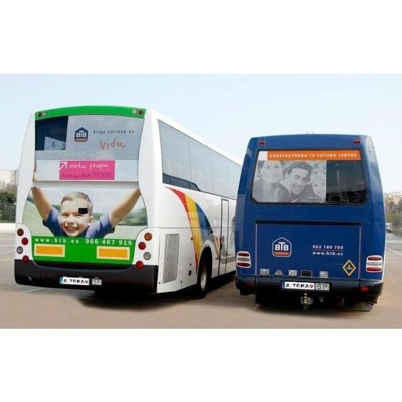 Servicio de transporte escolar y eventos: Servicios de Autobuses A. Tomás