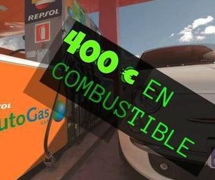 INCENTIVO 400 € EN COMBUSTIBLE AUTOGAS