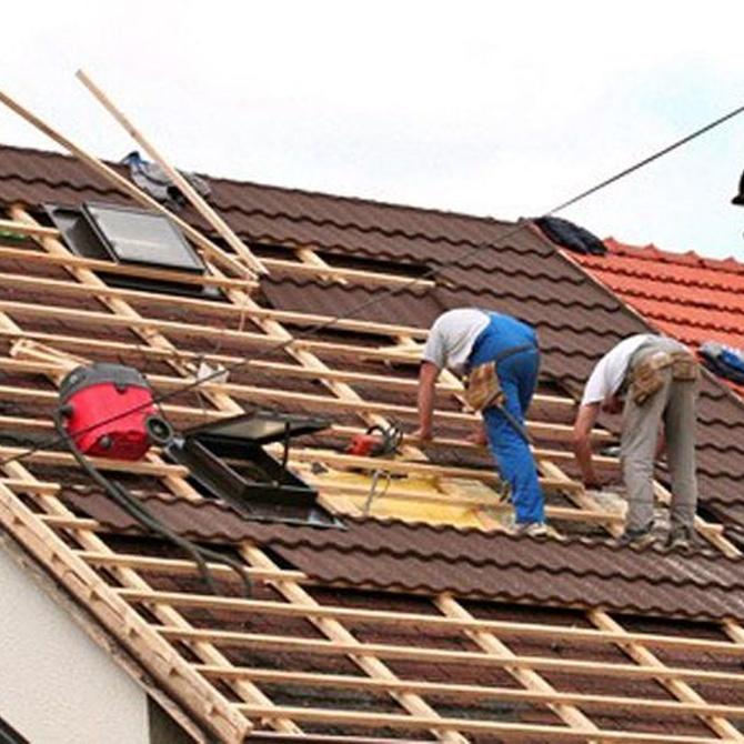 La reparación de tejados en las reformas