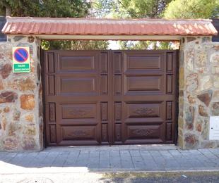 Puertas en acero lacado