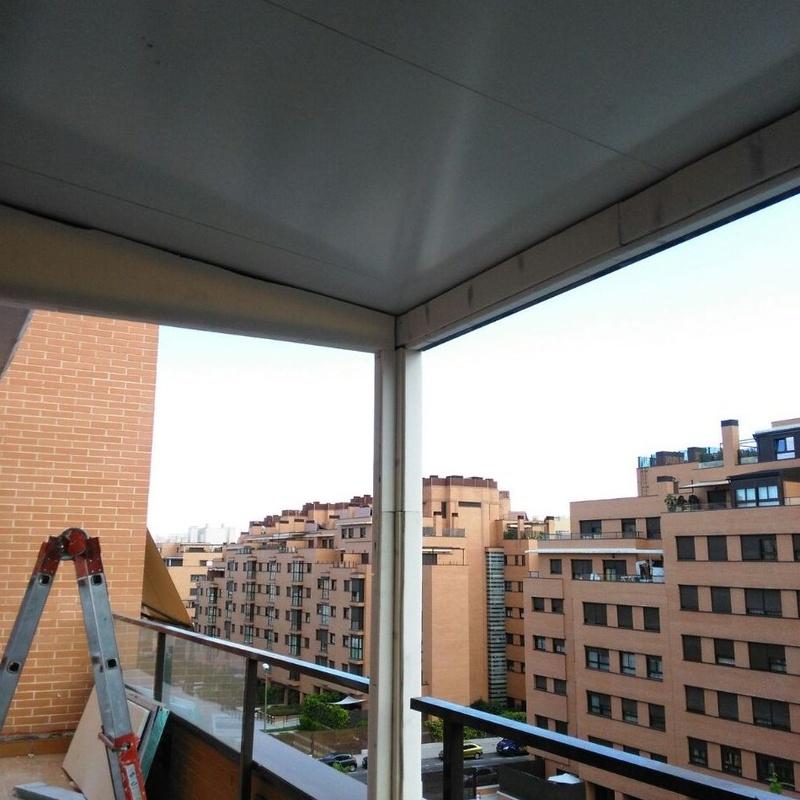 Techado terraza Madrid Sur Toledo