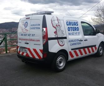 Rescates para asistencia en carretera: Catálogo de Grúas Otero