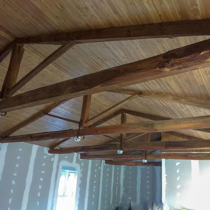 Forrado de techos: Servicios de Ebanistería y Carpintería Martín