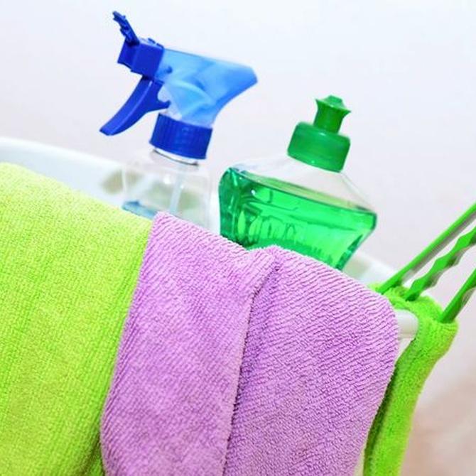Cómo elegir tus productos de limpieza