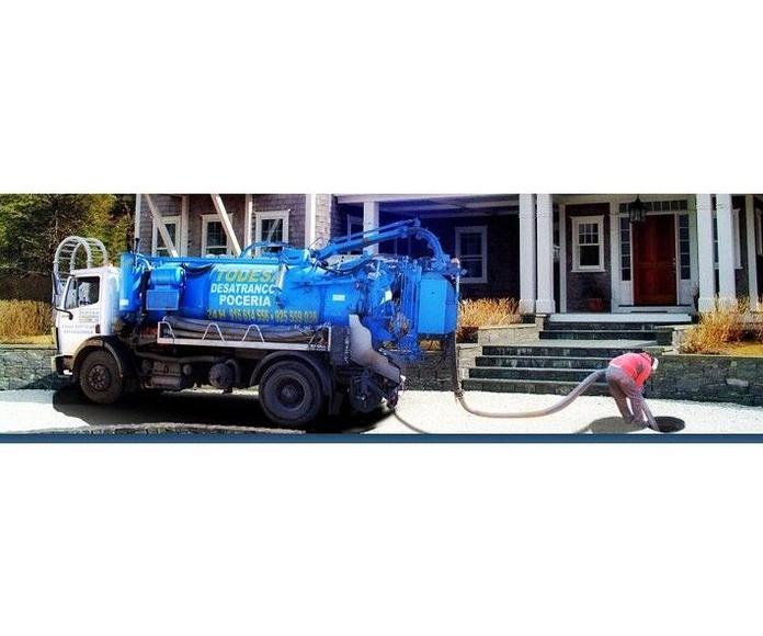 Obras de Pocería y remodelación de la red de saneamientos: Servicios de Todesa