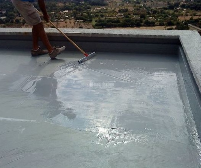 Impermeabilizar Terrazas en Lezo|Impermeabilizaciones Rueda