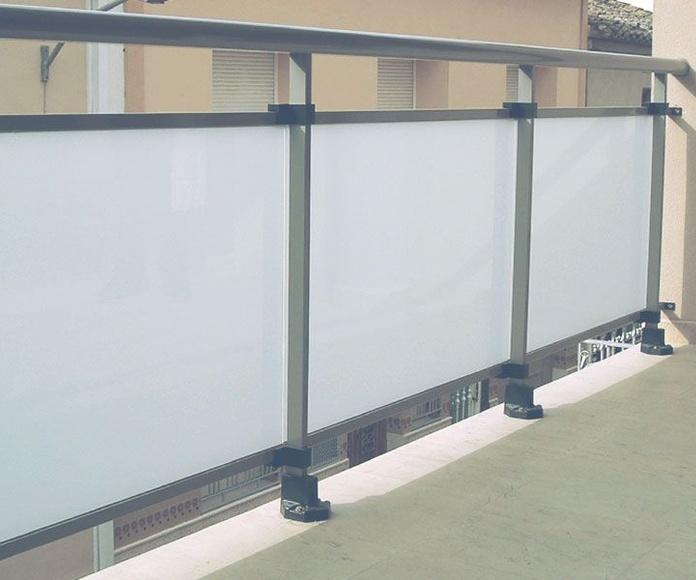 Balconeras: Productos y servicios de Barralum Aluminis