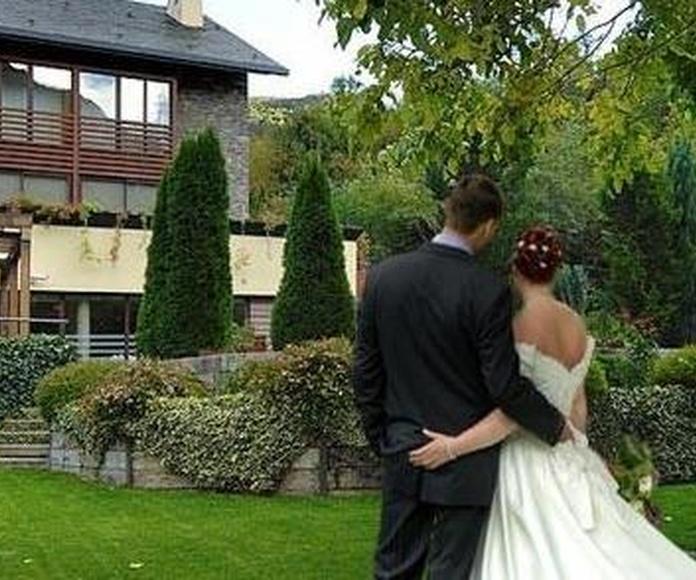 restaurante para bodas en Riberies