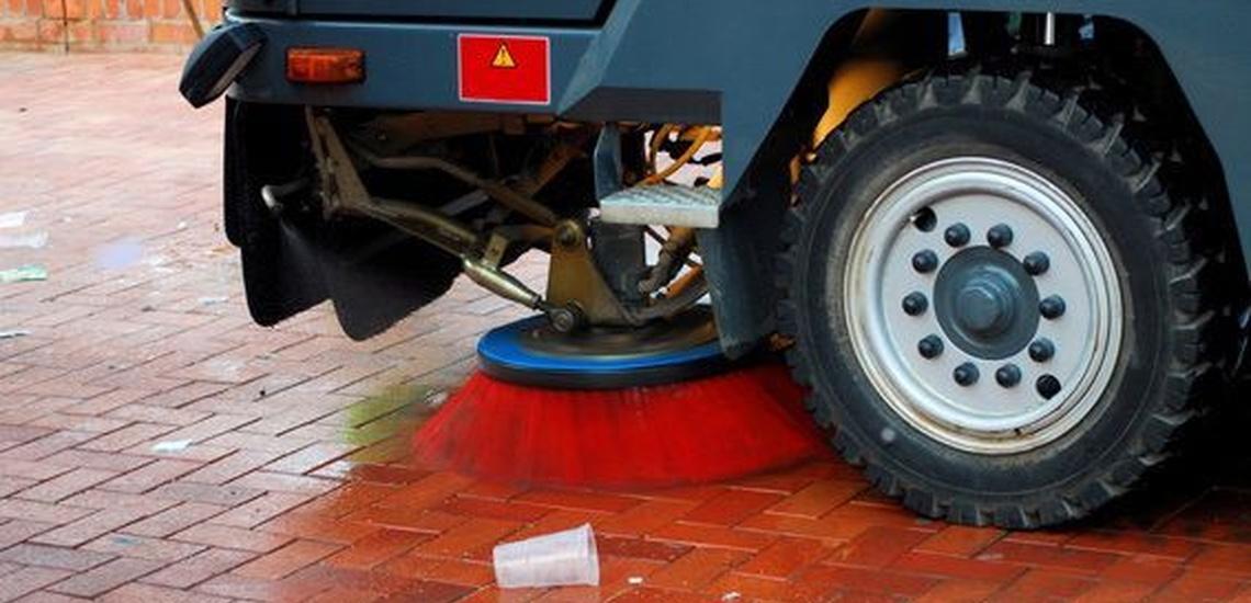 Limpieza de parking en Tarragona
