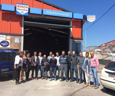 Visita grupal de Cocemfe a nuestras instalaciones.
