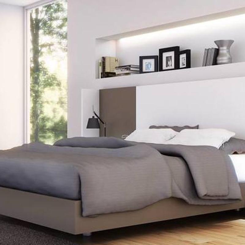 completa tu dormitorios con el cabezas y los muebles auxiliares
