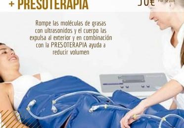 Presoterapia / Cavitación