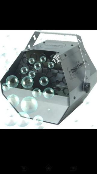 Máquinas de burbujas
