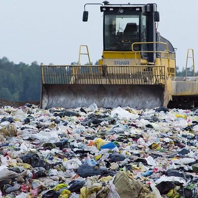 ¿A dónde van los residuos?