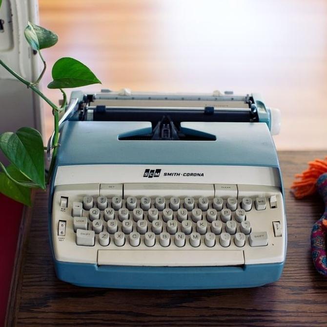 Por qué usar hoy día una máquina de escribir