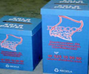 Instalación de cajas