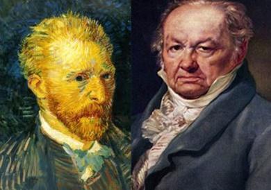 Un dia como hoy nacieron Goya y Van Gogh